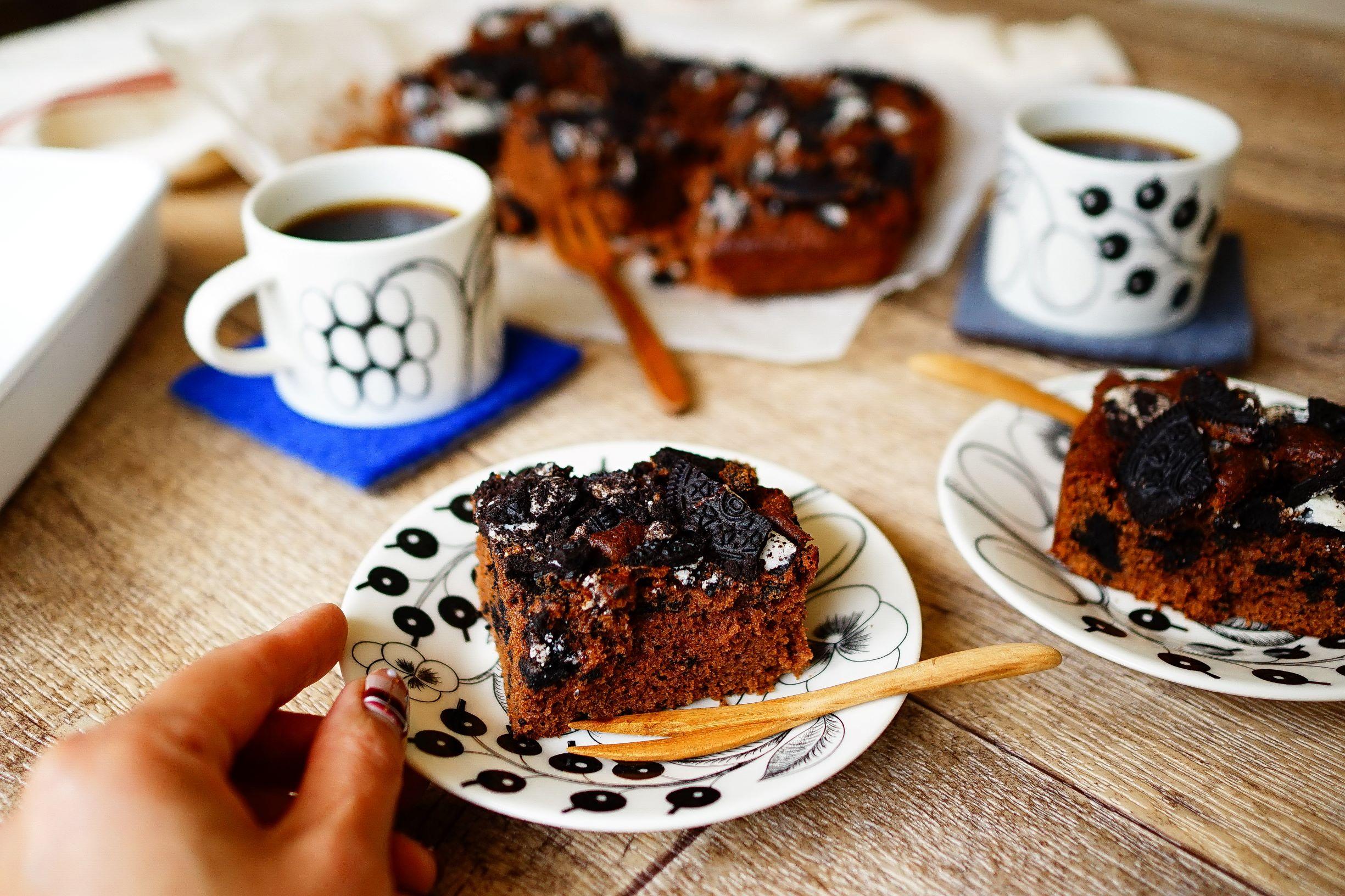 【desakiレシピ㉑】ホットケーキミックスで作る♪「オレオブラウニー」