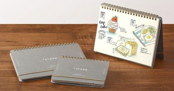描いて♪飾って♪自分らしいノート作りにチャレンジしちゃお♡【MIDORI プラススタンド】