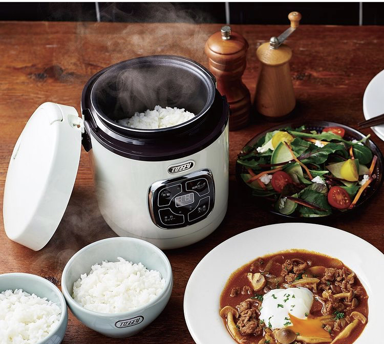 がんばり過ぎずに自炊生活♪調理と発酵もおまかせの炊飯器【toffy マイコン炊飯器】